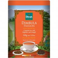 Чай черный «Dilmah» с голубикой, малиной и клубникой, листовой, 100 г.