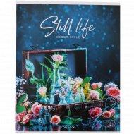 Тетрадь «Стиль. Still life» клетка, 96 л.