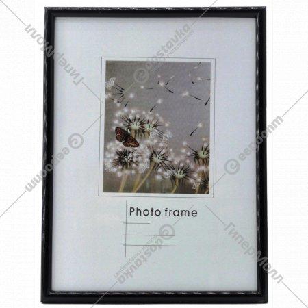 Рамка пластиковая «Poldom» со стеклом, 16731, 13x18 см.