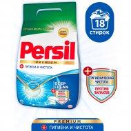 Стиральный порошок «Persil» Premium, Для Белого, 2.43 кг