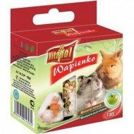 Минеральный камень «Vitapol» для грызунов и кроликов с яблоком, 40 г.