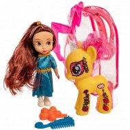 Игровой набор «Кукла и пони».