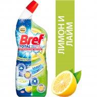 Чистящий гель для туалета «Bref» чистота и блеск лимон, 700 мл