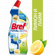 Средство чистящее «Bref» для унитаза, чистота и блеск лимон, 700 мл.