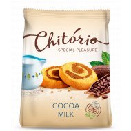 Печенье сдобное «Chitorio» с какао и молоком, 200 г.