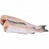 Рыба «Минтай» свежемороженая, 1 кг., фасовка 0.9-1.2 кг