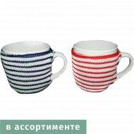 Чашка «Belbohemia» с вязаным чехлом, 530 мл, FT12373