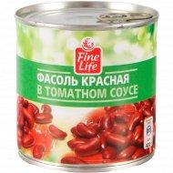 Фасоль красная «Fine Life» в томатном соусе, 420 г.