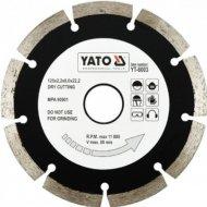 Диск отрезной «Yato» Segment, 125 мм