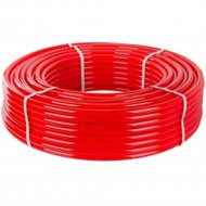 Труба «РосТурТрейд» PE-RT для теплого пола 16(2,0) бухта 200м красная.