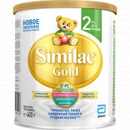Смесь «Similac Gold 2» 6 мес+, 400 г.