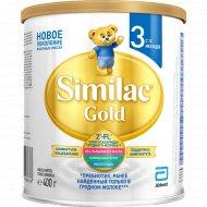 Смесь «Similac Gold 3» 12 мес+, 400 г.