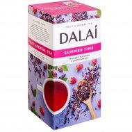 Чай травяной «Dalai» каркаде с малиной и шиповником, 25 пакетиков.