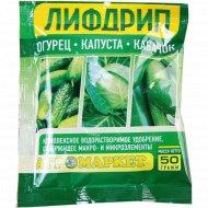 Удобрение «Лифдрип огурец, капуста, кабачок», 50 г.