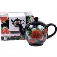 Чайник керамический «Belbohemia» Маков цвет, арт. L2520754, 1100 мл