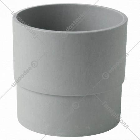 Кашпо «Нипон» 12 см, для дома/улицы, серый.