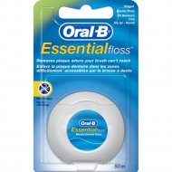 Зубная нить «Oral B» essential floss, 50 м.