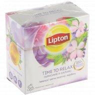 Напиток травяной «Lipton» time to relax, 20x1 г.