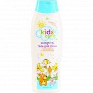 Шампунь и гель для душа «Kids care» с календулой и чистотелом, 400 мл.