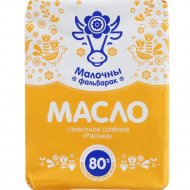 Масло сливочное «Малочны фальварак» 80%, 180 г