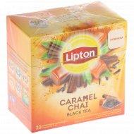 Чай черный «Lipton» Caramel Chai, 20 Х 1.8 г.