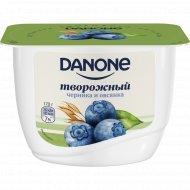 Продукт творожный «Данон» с черникой и овсом, 3.6%, 170 г.