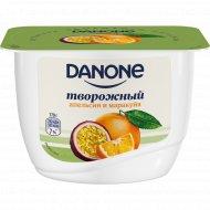 Продукт творожный «Данон» с апельсином и маракуйей, 3.6%, 170 г.