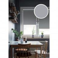 Рулонная штора «Эскар» Kauffort Blackout, графит, 43х160 см