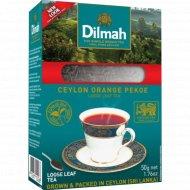Чай чёрный «Dilmah» крупнолистовый, 50 г.