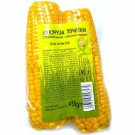 Кукуруза сахарная початки, 450 г.