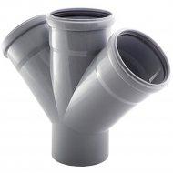 Крестовина «РосТурПласт» для внутренней канализации.