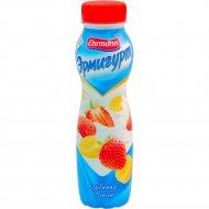 Напиток йогуртный «Эрмигурт питьевой» клубника-банан 1.2%, 290 г.