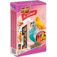 Корм «Vitapol» для волнистых попугаев с фруктами, 500 г.