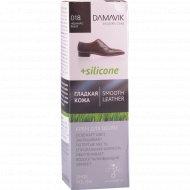Крем для обуви «Damavik» с силиконом черный 75 мл.