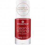 Лак для ногтей «Essence» Clean&Strong, 05 Loud Poppy, 8 мл