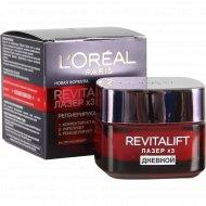 Крем для лица «L'Oreal» Revitalift Лазер х3, дневной, 50 мл.