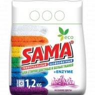 Бесфосфатный стиральный порошок «Sama» automat, 1.2 кг.