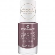 Лак для ногтей «Essence» Clean&Strong ,07 Juicy Terra, 8 мл