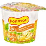 Картофельное пюре «Роллтон» с сухариками, 40 г
