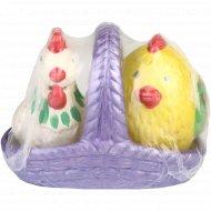 Набор для сыпучих специй «Цыплята в корзине».
