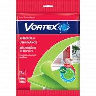 Салфетка универсальная «Vortex» для уборки, 3 шт.
