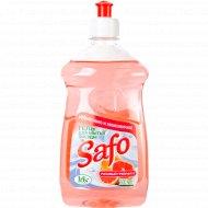 Средство для мытья посуды «Safo» розовый грейпфрут 500 мл.