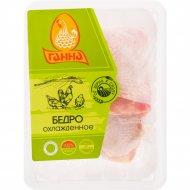 Бедро цыплёнка-бройлера «Ганна» охлажденное, 1 кг., фасовка 0.86-1.07 кг