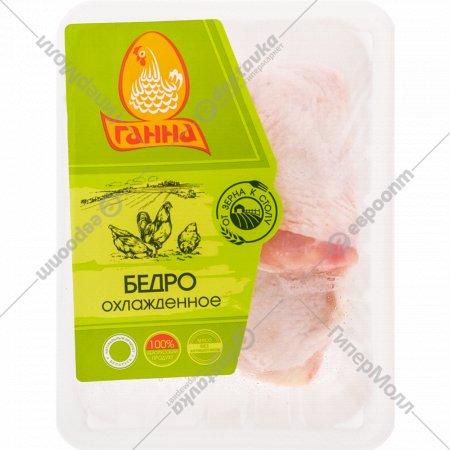 Бедро цыплёнка-бройлера «Ганна» охлажденное, 1 кг., фасовка 0.85-1.15 кг