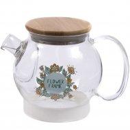 Чайник заварочный «Belbohemia» с фильтром, 550 мл