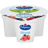 Творог зерненый «101 зерно» сливки и лесные ягоды, 5 %, 130 г.
