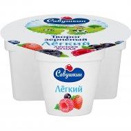 Творог зерненый «Савушкин» лесные ягоды, 5%, 130 г.