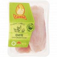 Филе цыплёнка-бройлера охлаждённое 1 кг., фасовка 0.95-1.1 кг