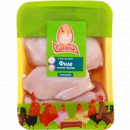 Филе цыплёнка-бройлера охлаждённое 1 кг., фасовка 0.9-1.2 кг