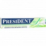 Зубная паста «President» ecoBIO, 75 мл.